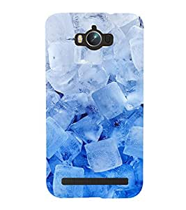 printtech Abstract Pattern Ice Cubes Back Case Cover for Asus Zenfone Max ZC550KL (2016)