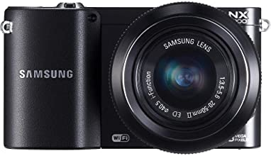 Samsung NX1000 20.3MP Digital Camera (Certified Refurbished) - with 20-50mm Lens