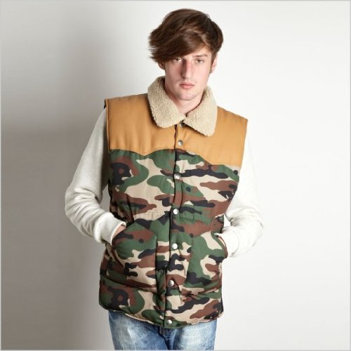 Criminal Damage Musket Gilet Camo (Criminal Damage): Large