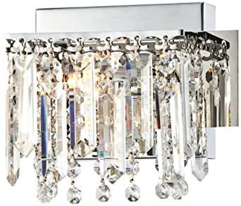 Possini Euro Design Hanging Crystal 7 3 4 Wide Bath Light Vanity Ligh