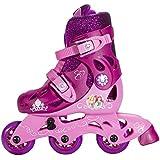 Disney Princess Convertible 2-in-1 Kids Skate, Junior Size 6-9