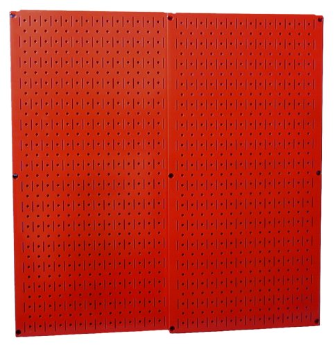 Images for Wall Control 30-P-3232R Red Metal Pegboard Pack