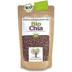 Bio Chia Samen in geprüfter Bio-Qualität (DE-ÖKO-22) (500g)