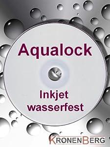 Aqualock Glossy DVD+R DL Double Layer 8,5GB/8x Inkjet printable waterproof - 10 Stück