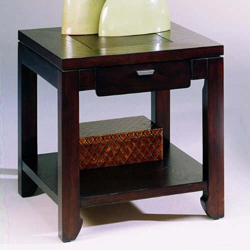 Cheap Kanson Rectangular Drawer End Table by Hammary – Oxblood (T1004421-00) (T1004421-00)