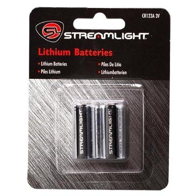 Streamlight Lithium Batteries CR123A