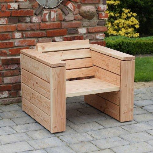 binnen-markt Lounge Sessel Heimisches Holz Douglasie Natur