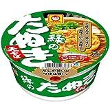マルちゃん 緑のたぬき天そば (北海道) 101g×12個 ランキングお取り寄せ