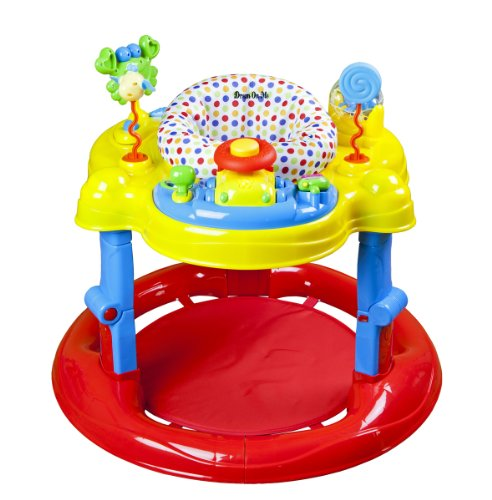 Dream On Me Spin Musical Activity Center, Red front-920282