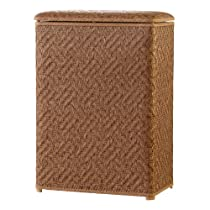 Lamont Home Apollo Snag Proof Wicker Large Family Size Laundry Hamper