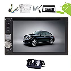 See Rear Camera Included 2015 3D Android 4.2 Double Din 6.2