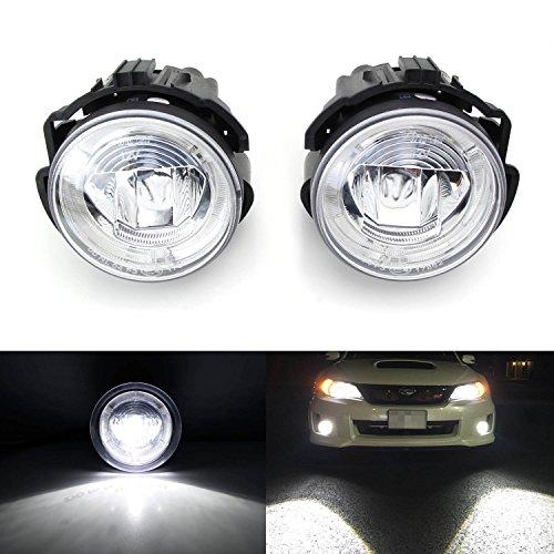 iJDMTOY 20W High Power CREE XB-D LED Halo Ring Daytime Running Lights/LED Fog Lights For 2008-2010 Subaru WRX STI & 2009-2013 Subaru Forester (2009 Wrx Fog Lights compare prices)