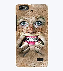 TOUCHNER (TN) Monster Back Case Cover for Huawei Honor 4C::Huawei G Play Mini