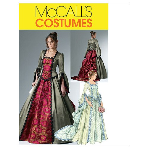 Review Of McCall's Patterns M6097 Misses' Victorian Costume, Size EE (14-16-18-20)