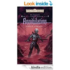 Annihilation: R.A. Salvatore Presents The War of the Spider Queen, Book V (R.A Salvatore Presents the War of the Spider Queen)