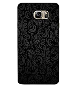 ColourCraft Pattern Design Back Case Cover for SAMSUNG GALAXY NOTE 6