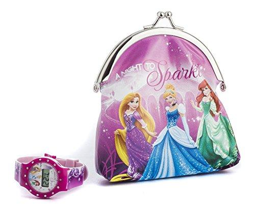 Disney Princess DP156 Orologio da Ragazza, Plastica, Multicolore