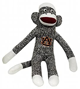 Buy NCAA Auburn Tigers Plush Sock Monkey by Game Day Outfitters