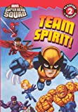Team Spirit! (Turtleback School & Library Binding Edition) (Marvel Super Hero Squad (Pb))