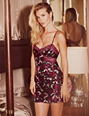Rosie for Autograph Pure Silk Rose Print Chemise