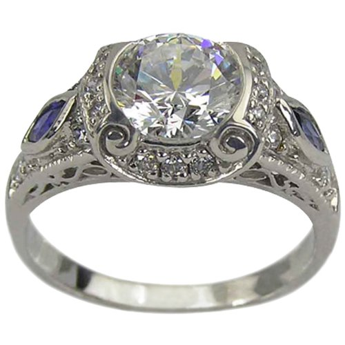 ANTIQUE MARQUISE ENGAGEMENT RINGS