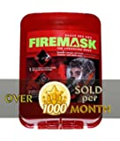 Emergency Escape Hood Oxygen Mask Respirator for Industrial and Urban Survival - Protects for 60 Min Against Smoke, Gas, & Fire Inhalation - By Firemask. Great for Home, Office, Truck, High Rise Buildings. Get Peace of Mind Now!