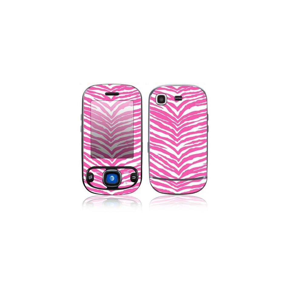 Pink Zebra Decorative Skin Cover Decal Sticker for Samsung