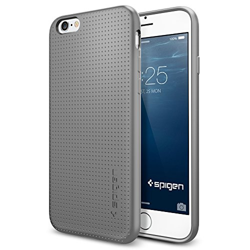 iPhone 6 ケース, Spigen® [ ソフト TPU ] Apple iPhone 4.7 (2014) カプセル The New iPhone アイフォン6 (国内正規品) (グレー SGP11020)