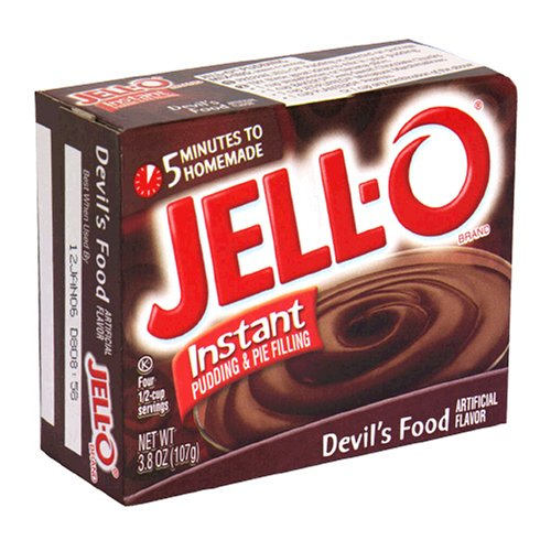 Buy Jell-O Instant Pudding & Pie Filling, Devil's Food, 3.8-Ounce Boxes (Pack of 24) (JELL-O, Health & Personal Care, Products, Food & Snacks, Baking Supplies, Pie & Cobbler Fillings)