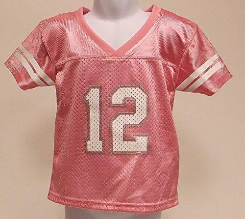 wholesale dealer bccf5 ccd55 Toddler Girls Dallas Cowboys Fan Fashion Jersey Pink (2T ...