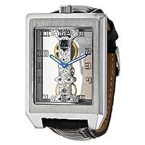 Brooklyn Watch Company Manual Wind Skeleton Dial Stainless Steel Mens Watch 13379