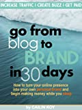 Go From Blog to Brand in 30 Days