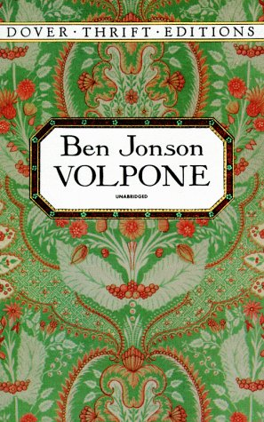 Image for Volpone (Dover Thrift Editions)