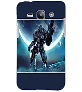 PrintDhaba Transformer D-1278 Back Case Cover for SAMSUNG GALAXY J1 (Multi-Coloured)
