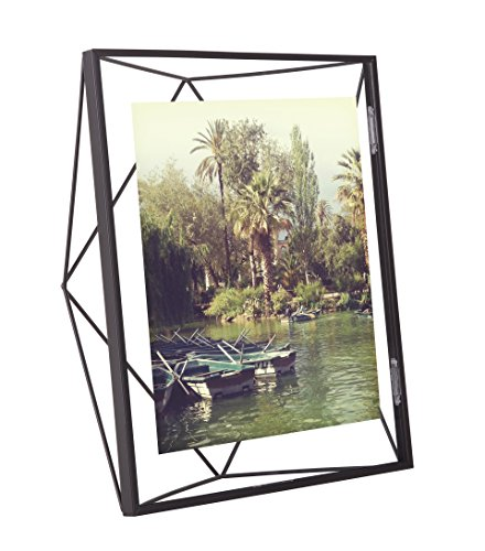 Umbra Prisma Picture Frame, 8 by 10-Inch, Black (Float Photo Frame compare prices)