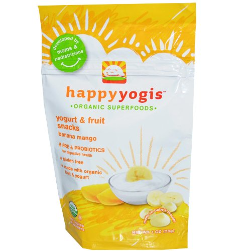 Happy Baby happy yogis Yogurt Snacks Banana Mango