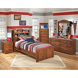 barchan bookcase bedroom set full