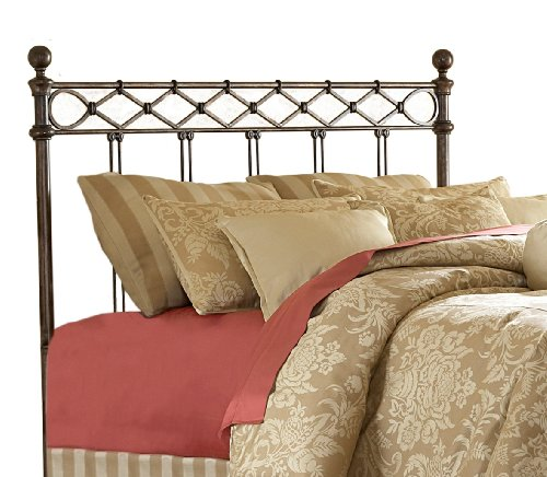 1 buy discount fashion bed group argyle headboard copper for Inexpensive queen headboards