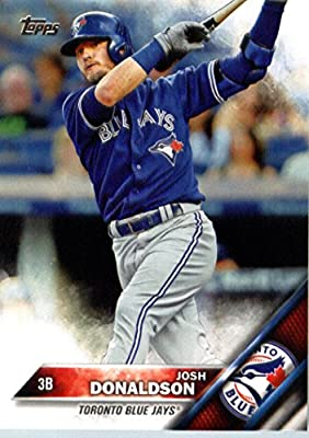 2016 Topps #200 Josh Donaldson Toronto Blue Jays Baseball Card-MINT