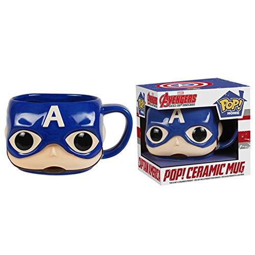 Funko Pop Home Marvel Avengers 2 Age Of Ultron: Captain America 12Oz Tazza