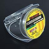 Fluorocarbon Carp Line Times Fishing Line Leader Line 50M 7.2LB 1.5#