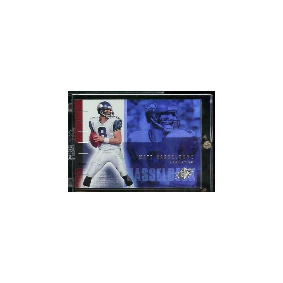 2006 Upper Deck SPX Matt Hasselbeck Seattle Seahawks