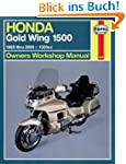 Honda GL1500 Gold Wing Owners Worksho...