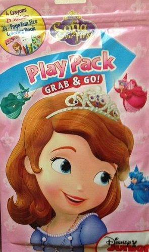 Princess Sofia The First Play Pack Grab and Go - Varied Designs