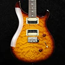 PRS SE Custom 24 Quilt Top Ltd Edition - Tobacco Sunburst with Gigbag - 2013