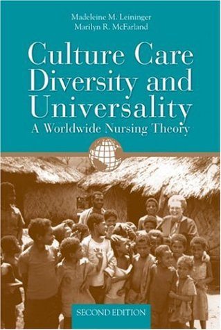 Culture Care Diversity  &  Universality: A Worldwide...