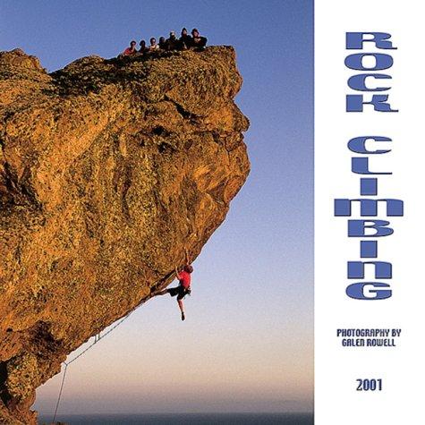 Rock Climbing 2001 Calendar