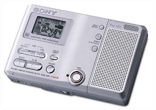 Sony MZB10 MiniDisc Voice Recorder