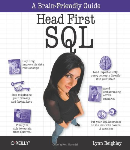 Head First SQL: Your Brain on SQL -- A Learner's Guide