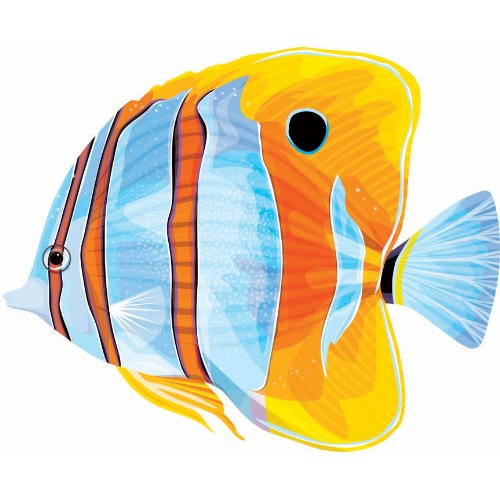 Copperband Fish Cutout